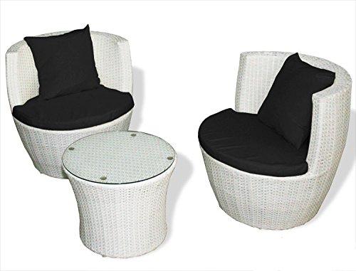 3 teilige sitzgruppe mit kissen. Black Bedroom Furniture Sets. Home Design Ideas
