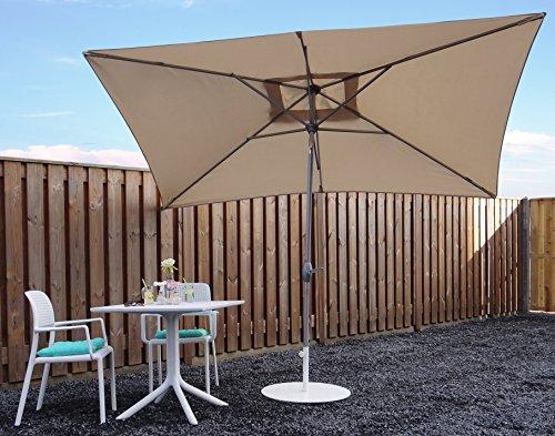 sonnenschirm parasol beige. Black Bedroom Furniture Sets. Home Design Ideas