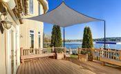 Rechteck Sonnensegel für Balkon
