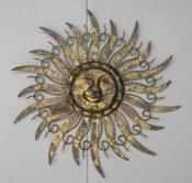 Sonne Wanddeko Metall