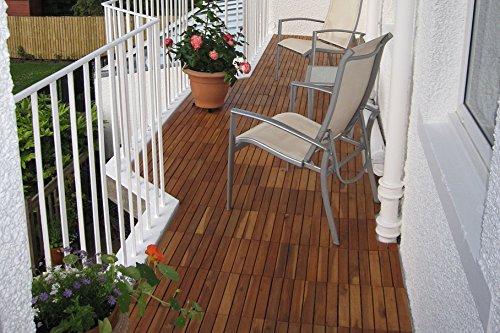 Balkon Fliesen Holz