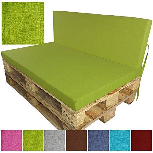 outdoor palettenn sitzkissen apfelgr n. Black Bedroom Furniture Sets. Home Design Ideas