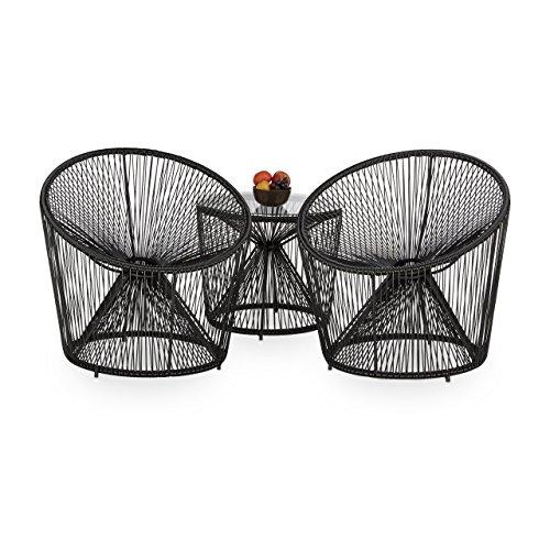 balkonst hle 2er set mexiko 60er jahre. Black Bedroom Furniture Sets. Home Design Ideas