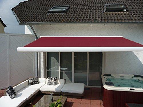 Elektrische Sonnenmarkise für den Balkon