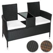 Sitzbank Tisch Poly Rattan