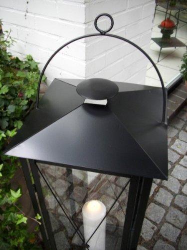 xxl stabile laterne schwarz. Black Bedroom Furniture Sets. Home Design Ideas