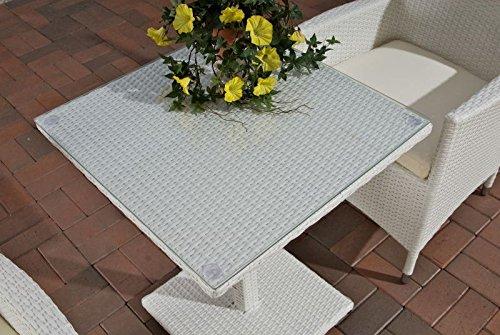 balkontisch st hle aus aluminium polyrattan. Black Bedroom Furniture Sets. Home Design Ideas
