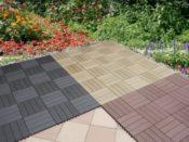 Balkonfliesen Holz/Kunststoff