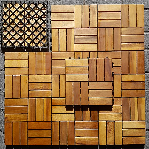 holzfliesen f r balkon. Black Bedroom Furniture Sets. Home Design Ideas
