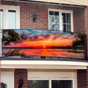 Sichtschutz Sunset