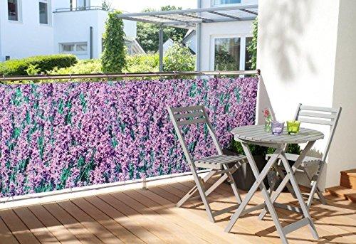 Sichtschutz Design Lavendel