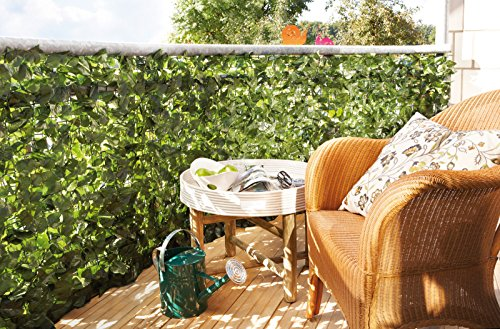 balkon sichtschutzhecke. Black Bedroom Furniture Sets. Home Design Ideas