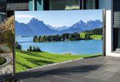 Sichtschutz Fotodruck Landschaft
